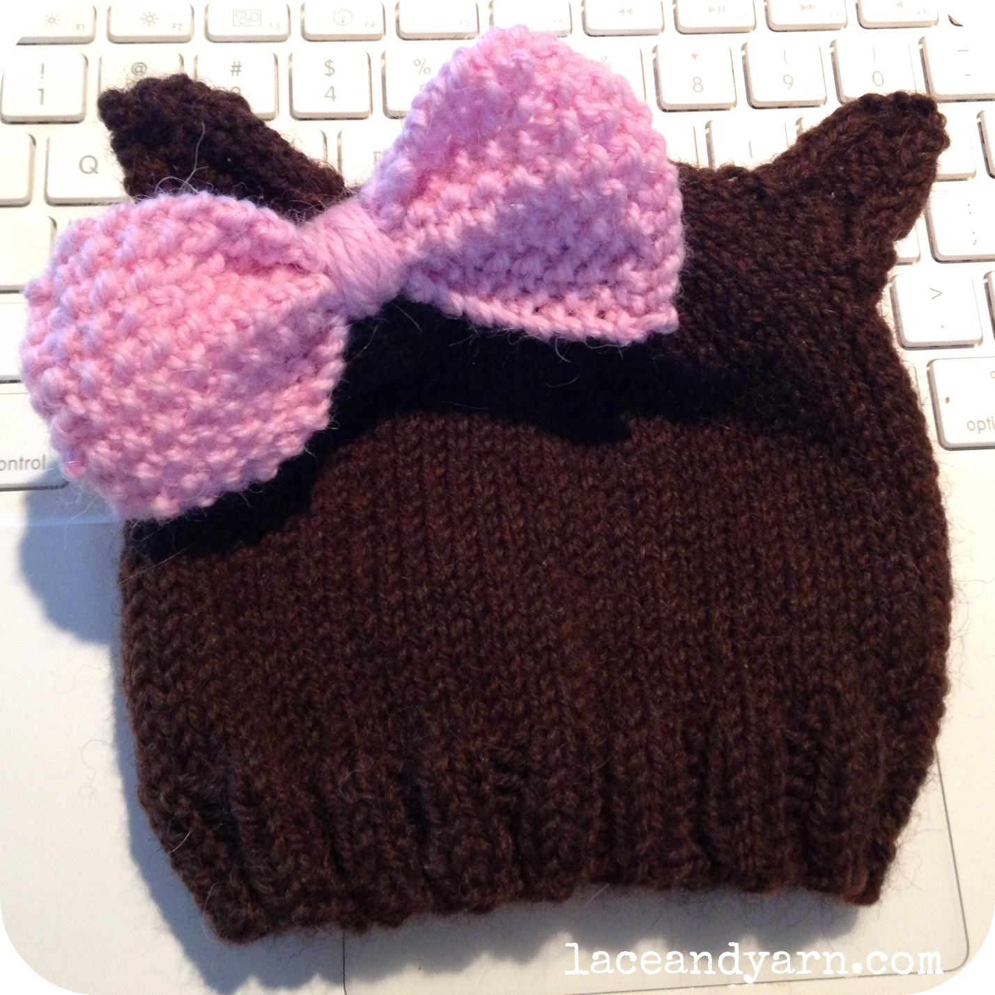 Knitting Pattern For Beanie With Ears : Adding Cat (or just general critter) Ears to a Knit Hat ...