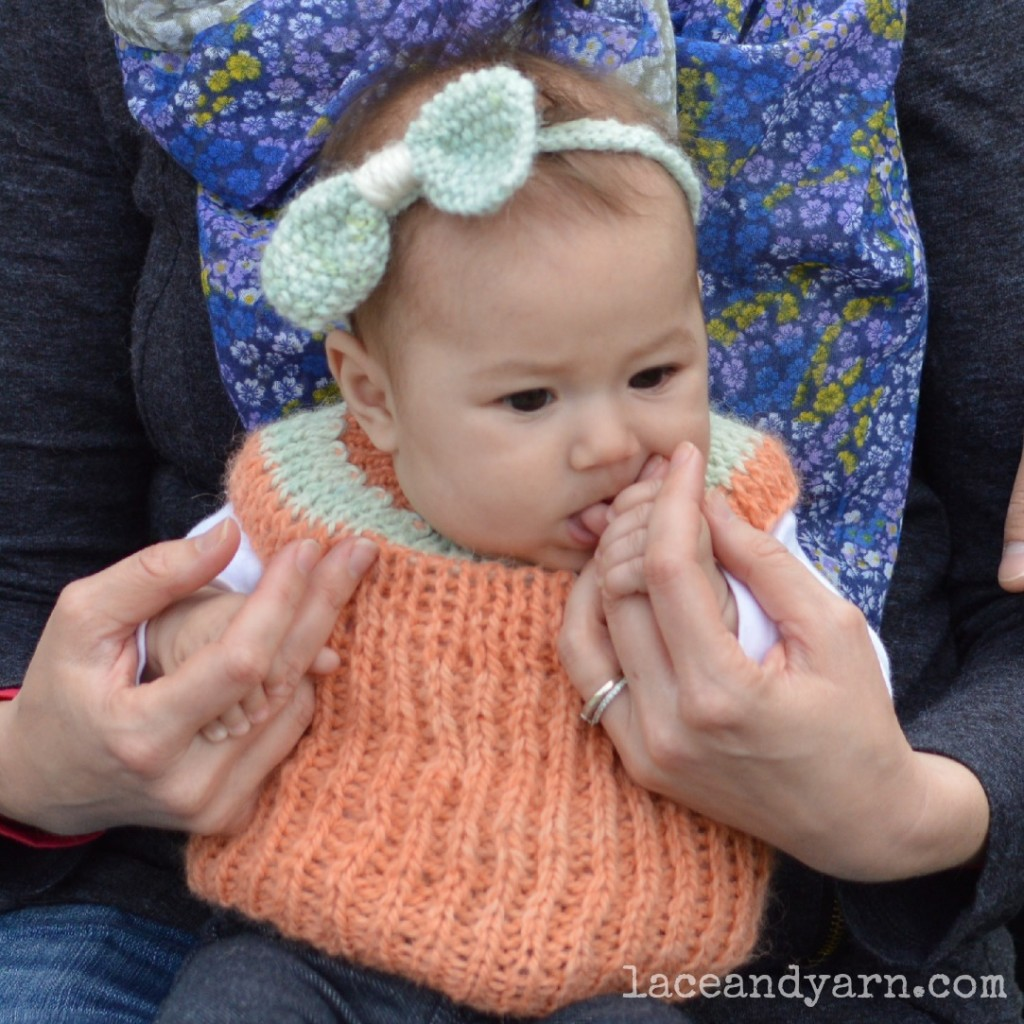 The littlest seedling headband -- laceandyarn.com